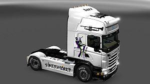 Jazz Music Skin for Scania RJL
