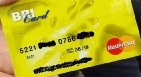 Kartu ATM BRI Gold