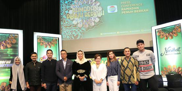 Jumpa pers launching program acara ramadan di Indosiar.