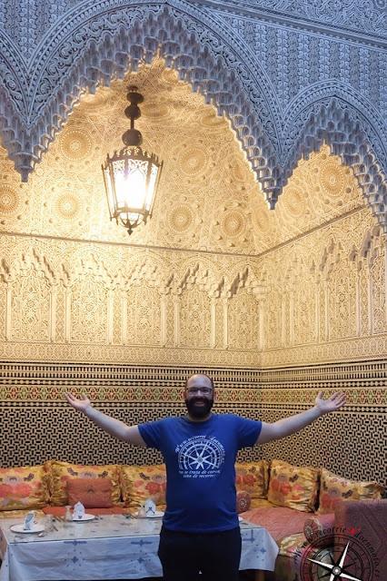 interior del riath, Fez