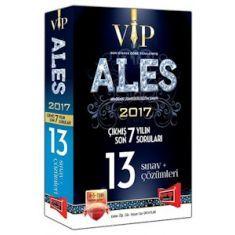 Yargı Yayınvi ALES VIP Son 7 Yılın Çıkmış 13 Sınav Soruları ve Çözümleri (2017)