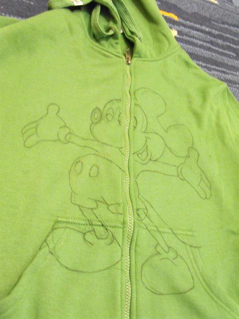 חולצת מיקי מאוס - DIY