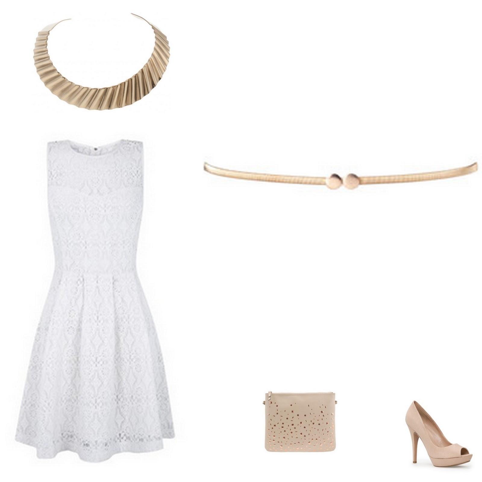 15db954ed0ef oruga de día mariposa de noche: Cómo combinar un vestido blanco