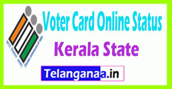 CEO Kerala New voter ID Status Online