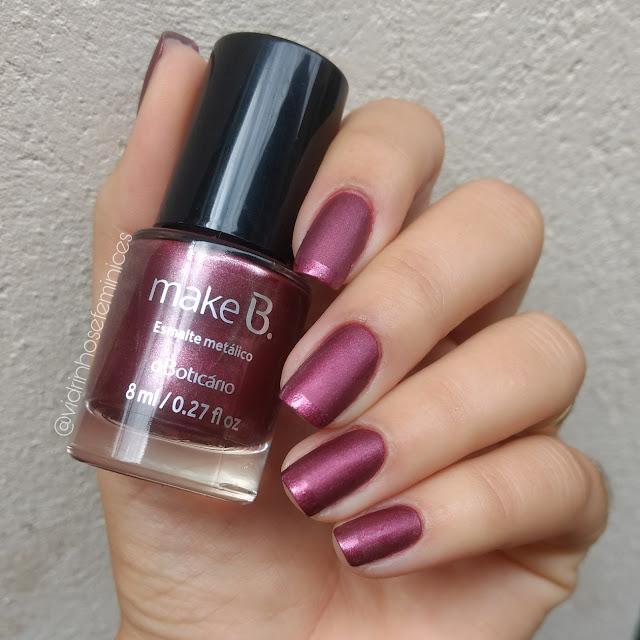 Esmalte Metálico - Purpleasure - Make B.