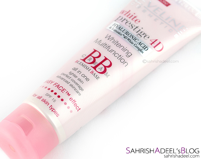White Prestige 4D Whitening Multifunction BB Cream by Eveline Cosmetics - Review & Swatch