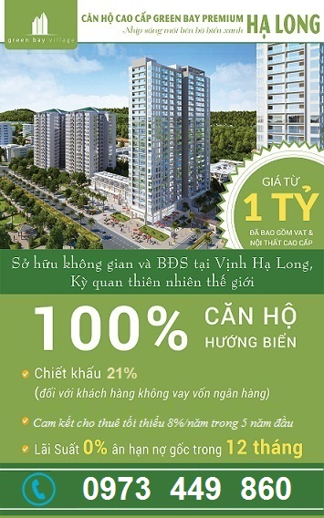 Chính sách bán hàng Green Bay Hạ Long