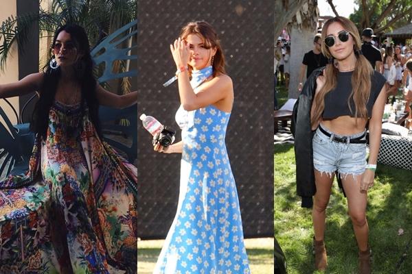 Celebridades disfrutan del segundo día del festival Coachella (FOTOS)