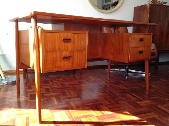 saldos vintage, móveis vintage, secretária, nórdica, teca, design nórdico