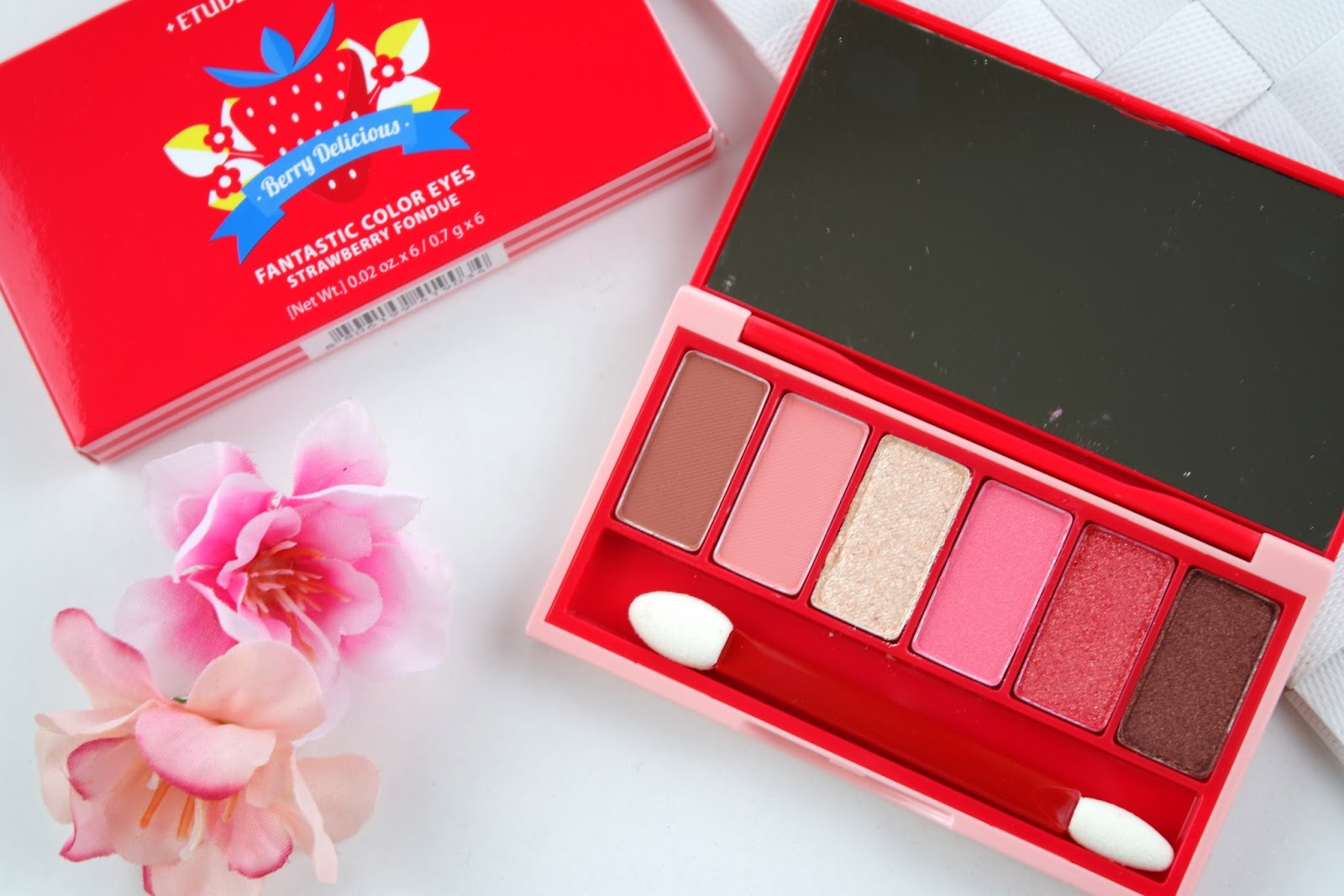 Etude House Berry Delicious Eye Palette - Strawberry Fondue