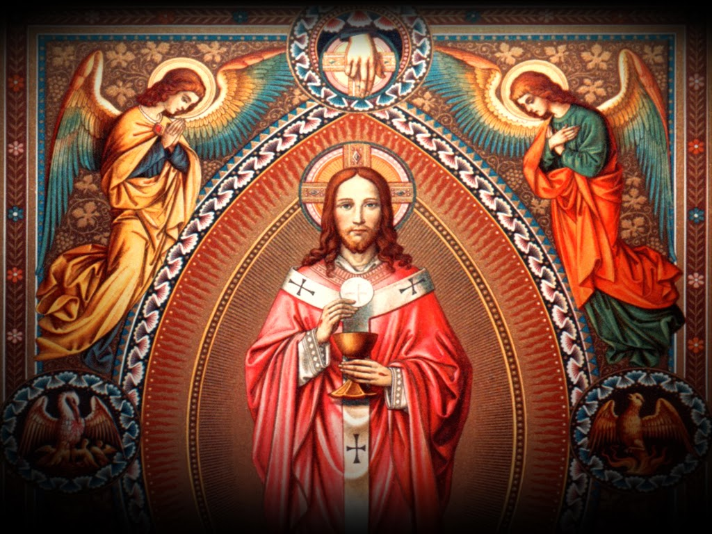 holy eucharist The holy eucharist lesson 26 from the baltimore cathechism « prev: next » 343 what is the holy eucharist the holy eucharist is a sacrament and a sacrifice in the holy eucharist, under the appearances of bread and wine, the lord christ is contained, offered, and received.