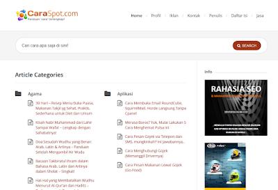 Blog Milik Iwan Setiawan