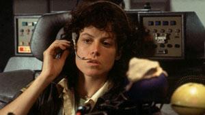 Sigourney Weaver en Alien, el octavo pasajero
