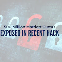 Personal Information from 500 Million Marriott Guests Exposed in Recent Hack