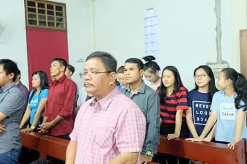 Bupati Sekadau Rupinus Ikuti Misa Kudus di Sambas