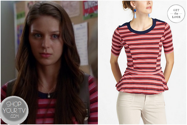 Glee: Season 4 Episode 5 Marley's Red Striped Shirt | Shop