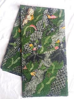 Batik Tulis Motif Tasik Malaya