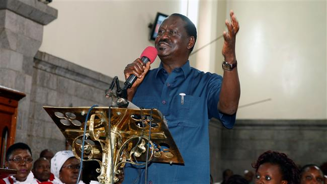 Kenya opposition leader Raila Odinga sets conditions for new presidential election
