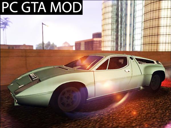 Free Download Maserati Bora Group 4 Mod for GTA San Andreas