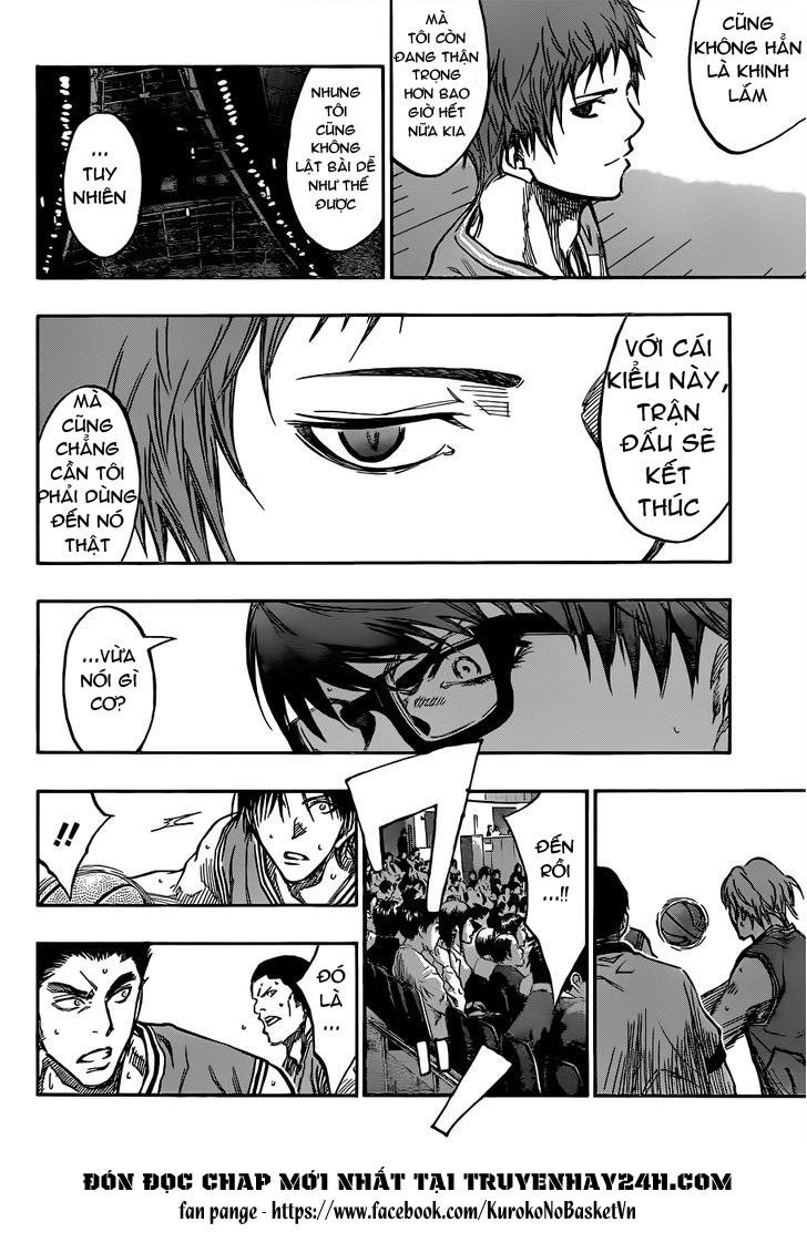 Kuroko No Basket chap 176 trang 12
