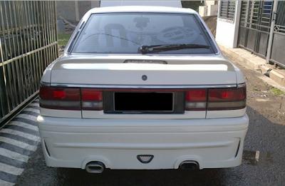 Eksterior Mazda 626 Capella Modifikasi