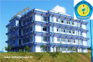 Daftar Fakultas dan Program Studi Universitas Batam Terbaru