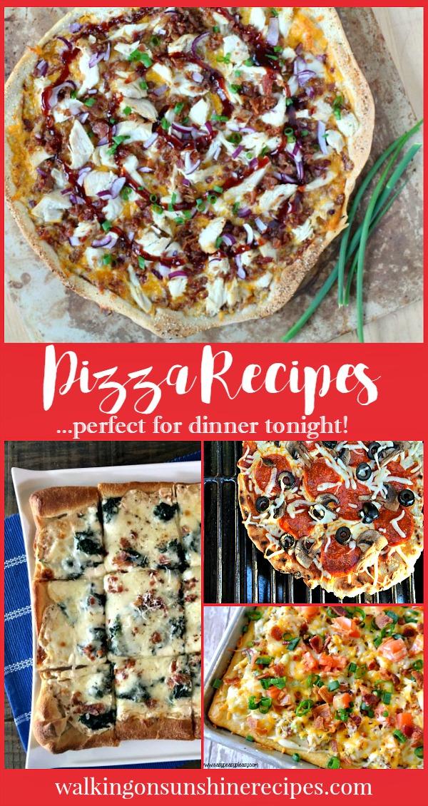 Homemade Pizza Recipes   Weekly Menu Plan   Walking on Sunshine.