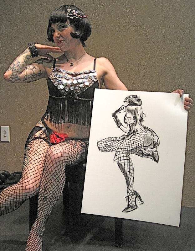 ********** PinUpShow ********** more art from Big AL