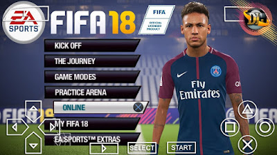 FIFA 18 iso PPSSPP Free Download