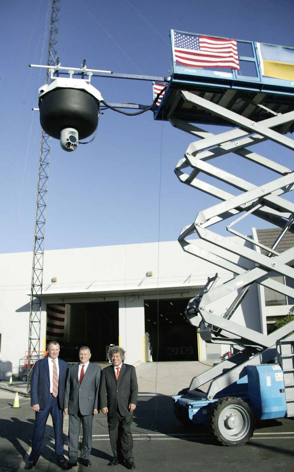 aeroscraft EEWS Elevated Early Warning System