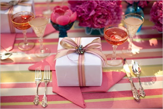 pink bridal shower theme