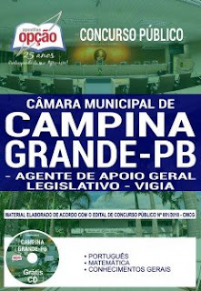 Baixar Apostila Câmara de Campina Grande 2019 PDF