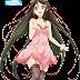 Tags: Render, Dress, Garter Belt, Izumi Reina, Long hair, Musaigen no Phantom World, Stockings, Thigh Highs, Very long hair