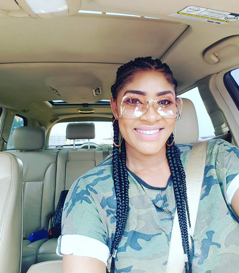 Actress Angela Okorie shares photos of her and her cute son, Backlash trolls