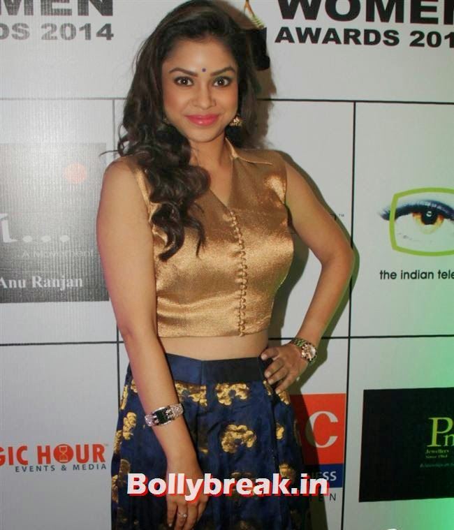 Sumona Chakravarti, Shriya Saran, Sridevi, Tamanna at GR8 Women Awards 2014