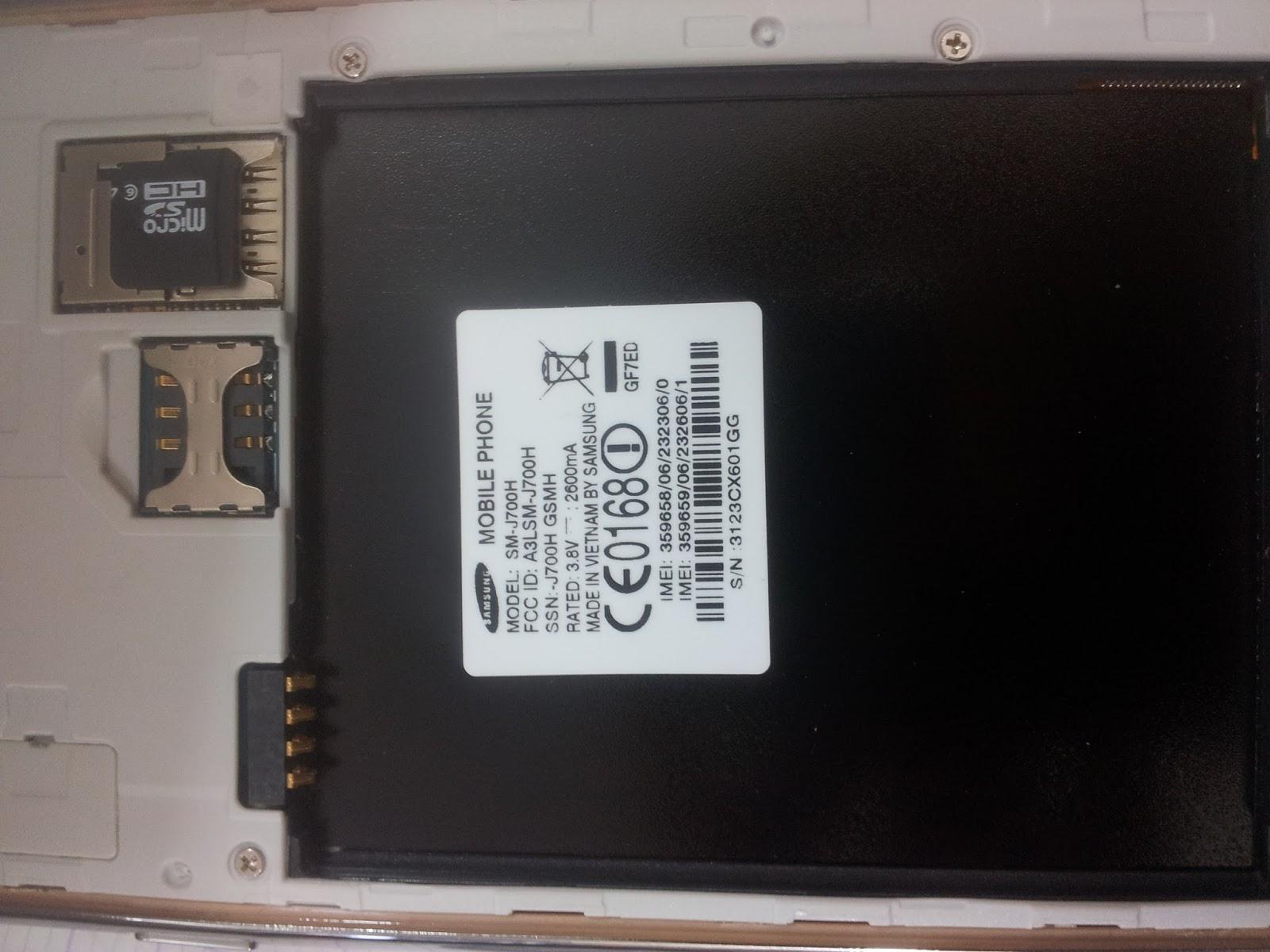 Samsung j700h firmware - Samsung Galaxy J7 Sm J700h Clone Firmware Readed As Sm G530f