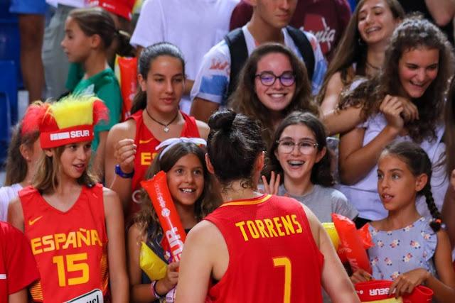 El baloncesto femenino español refuerza su crecimiento en 2018