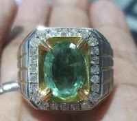 Jual Cincin Berlian Zamrud Zambia