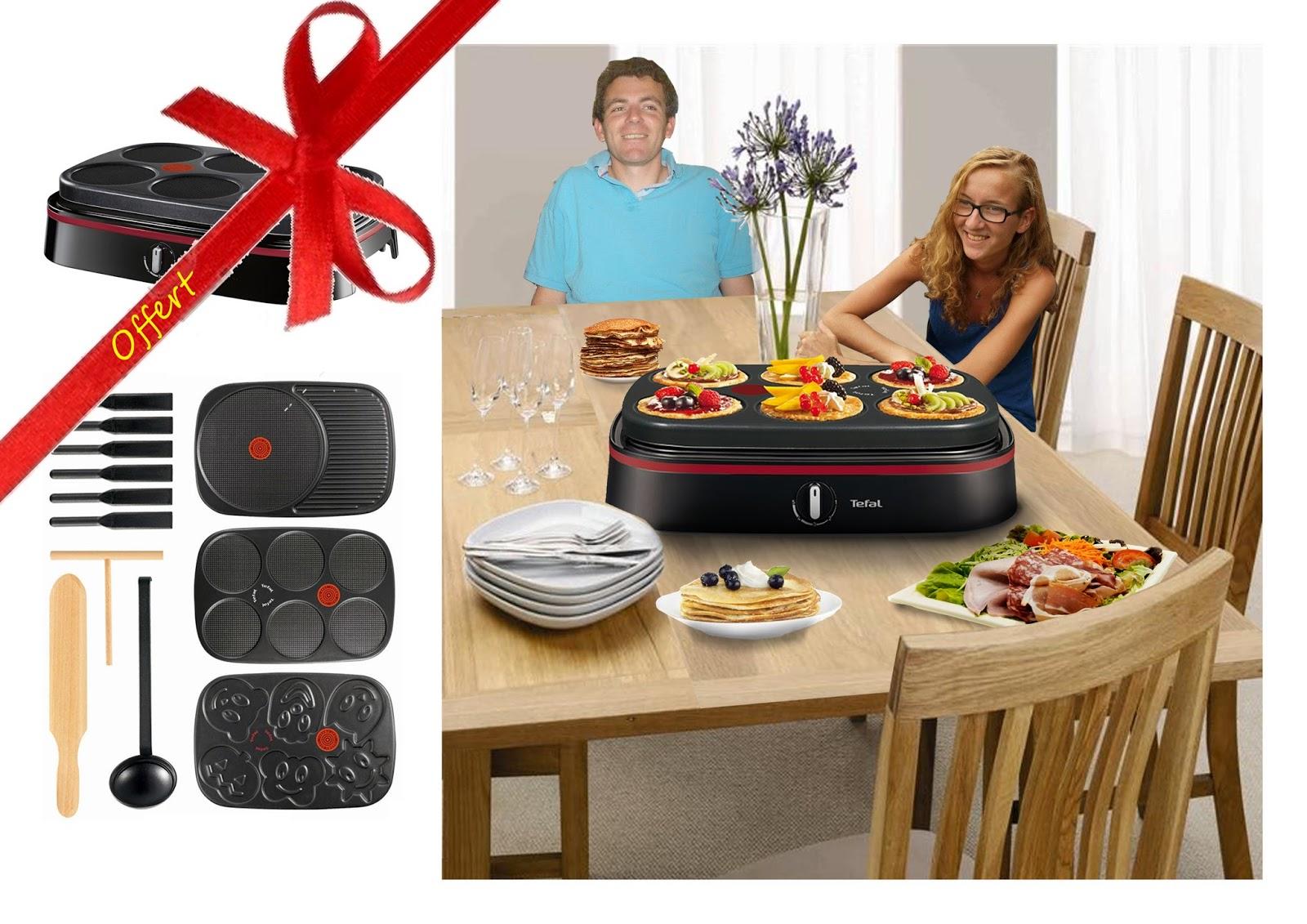 laure matthieu un appareil multi cr pes party tefal py605813. Black Bedroom Furniture Sets. Home Design Ideas
