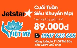 Jetstar tiếp tục tung vé máy bay đi Nha Trang chỉ 89.000 đồng