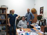 отцы-основатели издательства «ДИАЛЕКТИКА» - Геннадий Петриковец, Виктор Штонда, Алексей Орлович