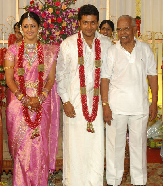 Surya And Jyothika Wedding Pictures Can Be Download It