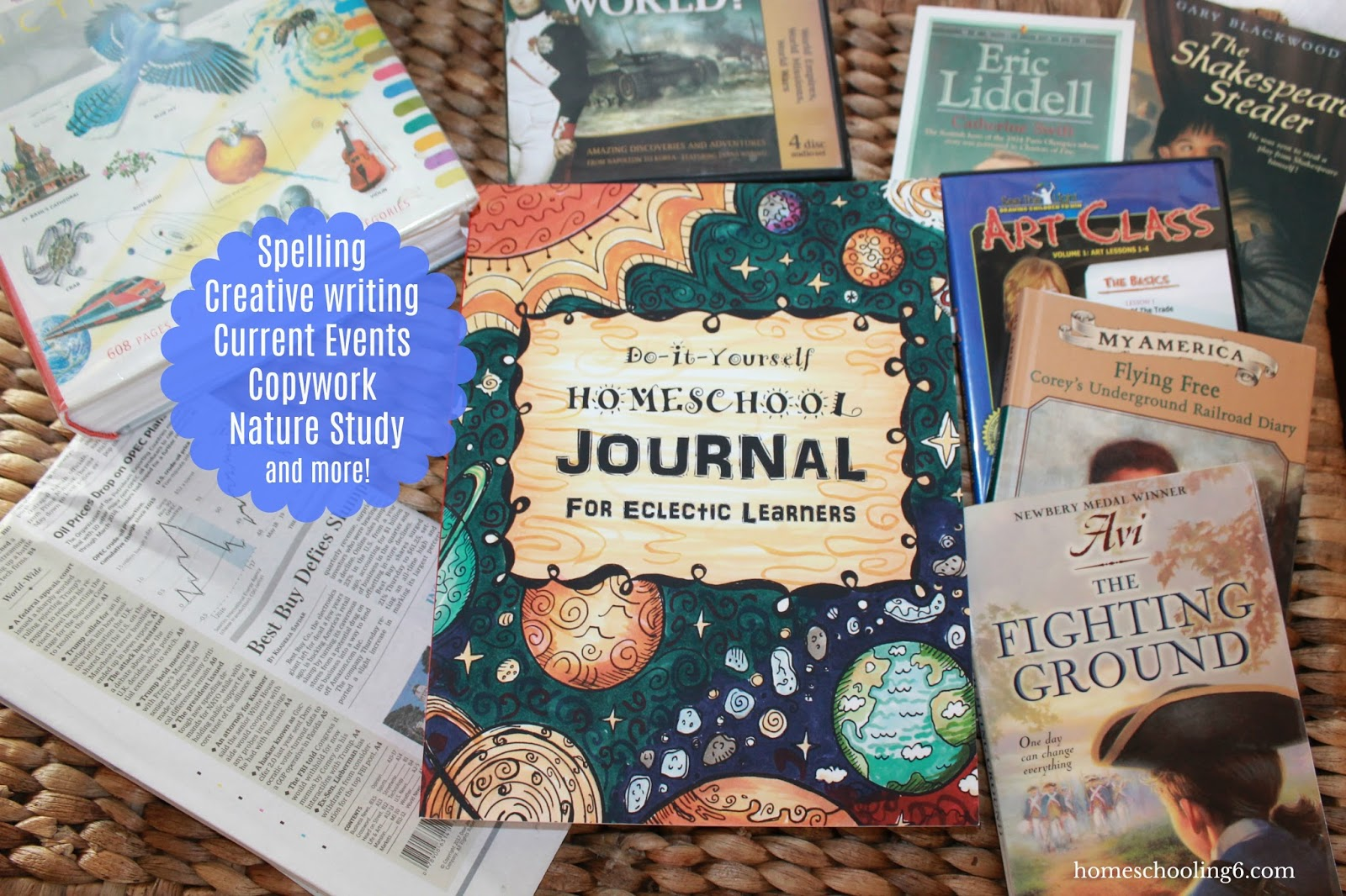 Eclectic journal space cover review homeschooling 6 flip to fun schooling using the thinking tree solutioingenieria Image collections