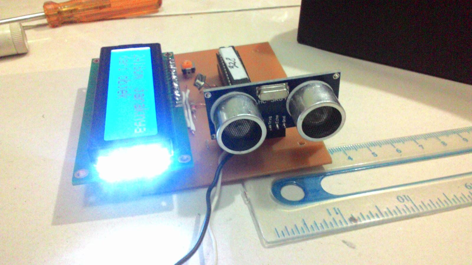 Diy Sensor Jarak Distance Sensor Dengan Atmega 328 Dan