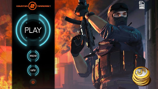 تحميل لعبة Counter Terrorist 2 لهواتف الاندرويد لعبة حربية تشتغل بدون النت