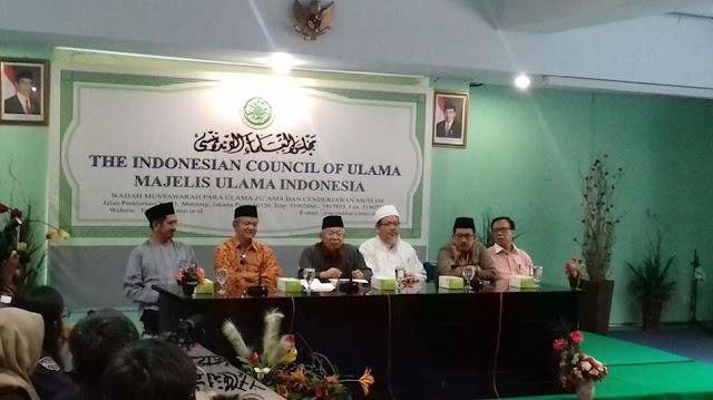 Catat! Didepan Jokowi MUI Tak Akan Gentar Sebut Ahok Penista Agama