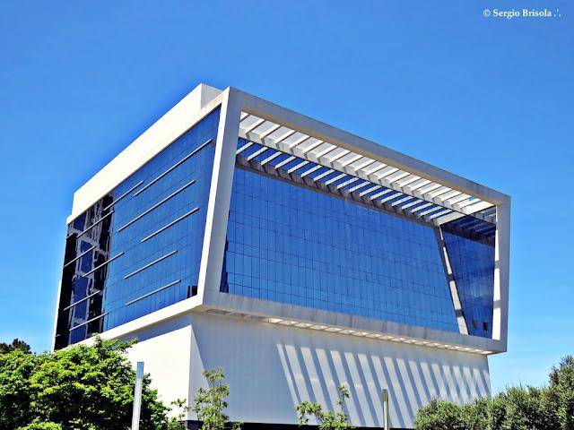 Vista ampla do Edifício WTorre Plaza Bloco B - Vila Olímpia - São Paulo