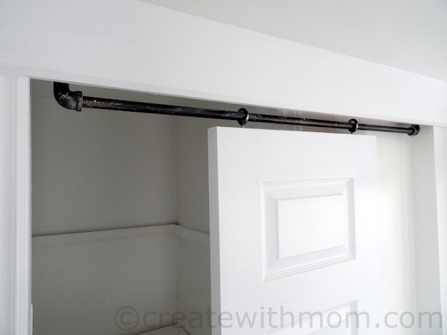 building a rolling barn door DIY