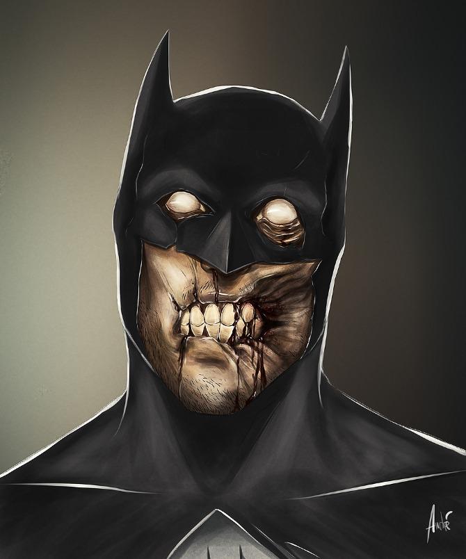 zombified batman
