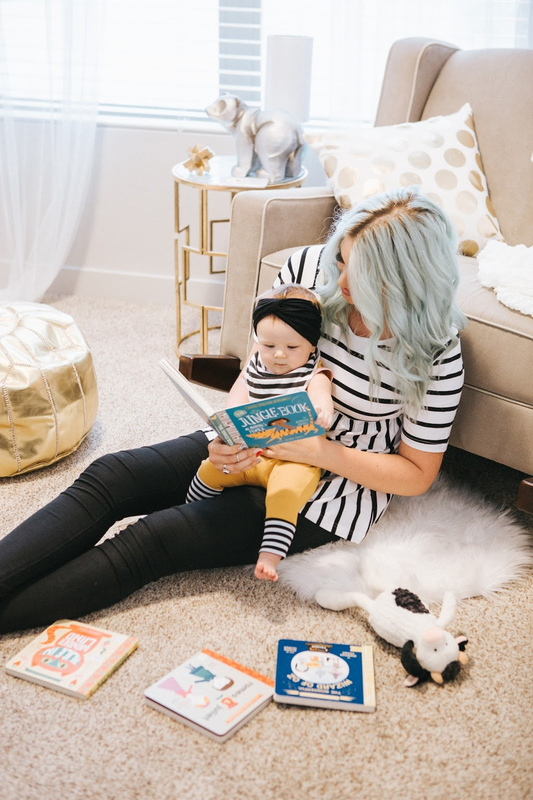 Mommy and Me, Stripes, Nursery